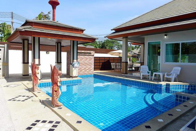 freistehende Poolvilla zum Verkauf