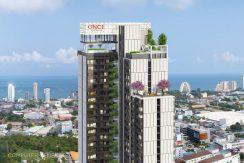 New Once Pattaya Condo zu verkaufen
