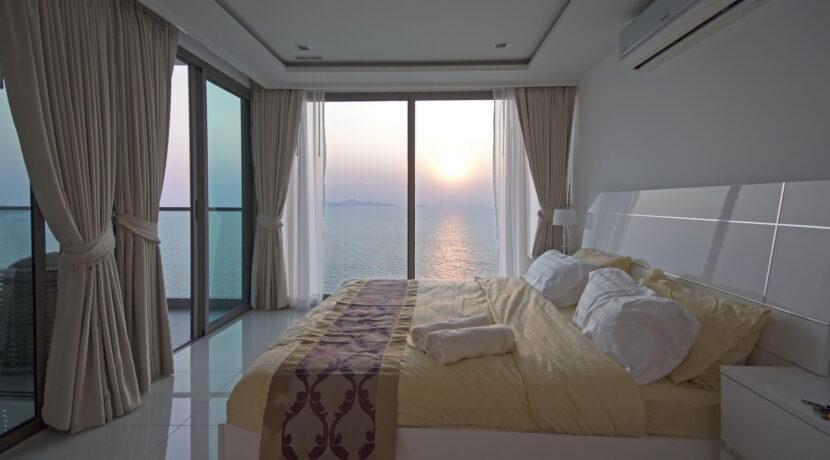 Schlafzimmer mit Meerblick Pattaya