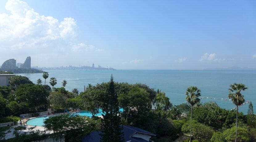 Ausblick Wongamat Strand