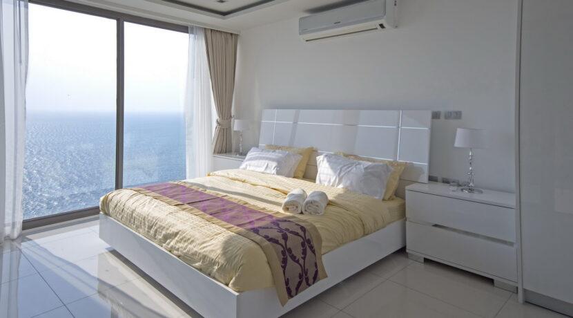 Wongamat Tower Wohnung mit Meerblick zu vermieten