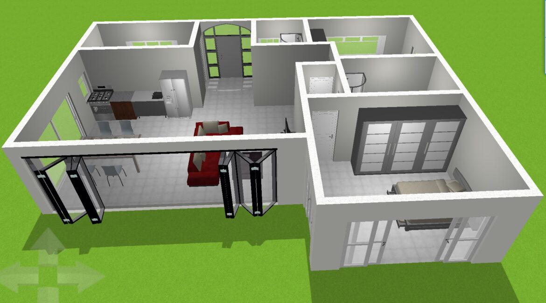 Neubauangebot Pattaya 3D Ansicht 01