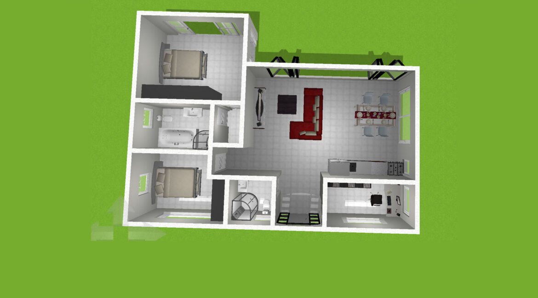 Neubauangebot Pattaya 3D Ansicht 04-01