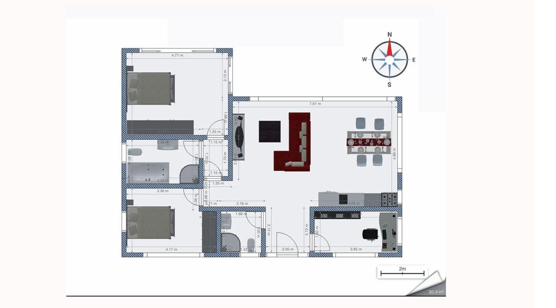 Neubauangebot Pattaya grundrissplan 4