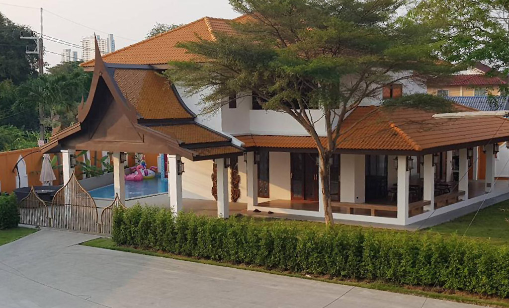 Zweigeschossiger-Hausneubau-Pattaya