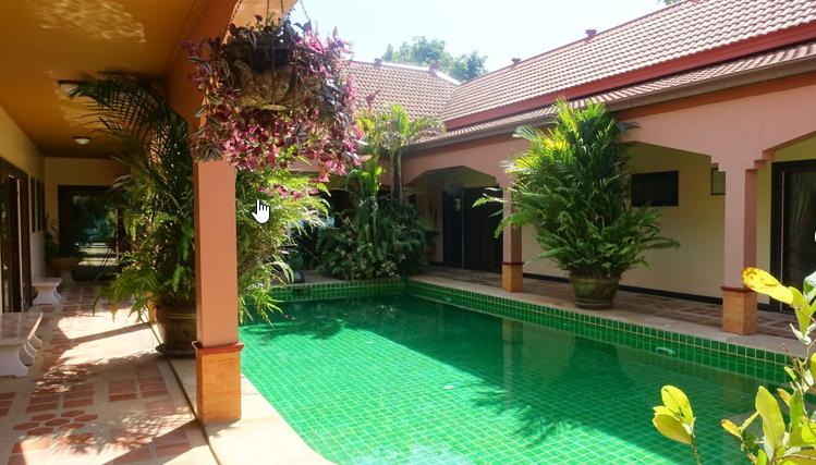 Pattaya Poolvilla mit Seeblick und eigenem Seeufer 5